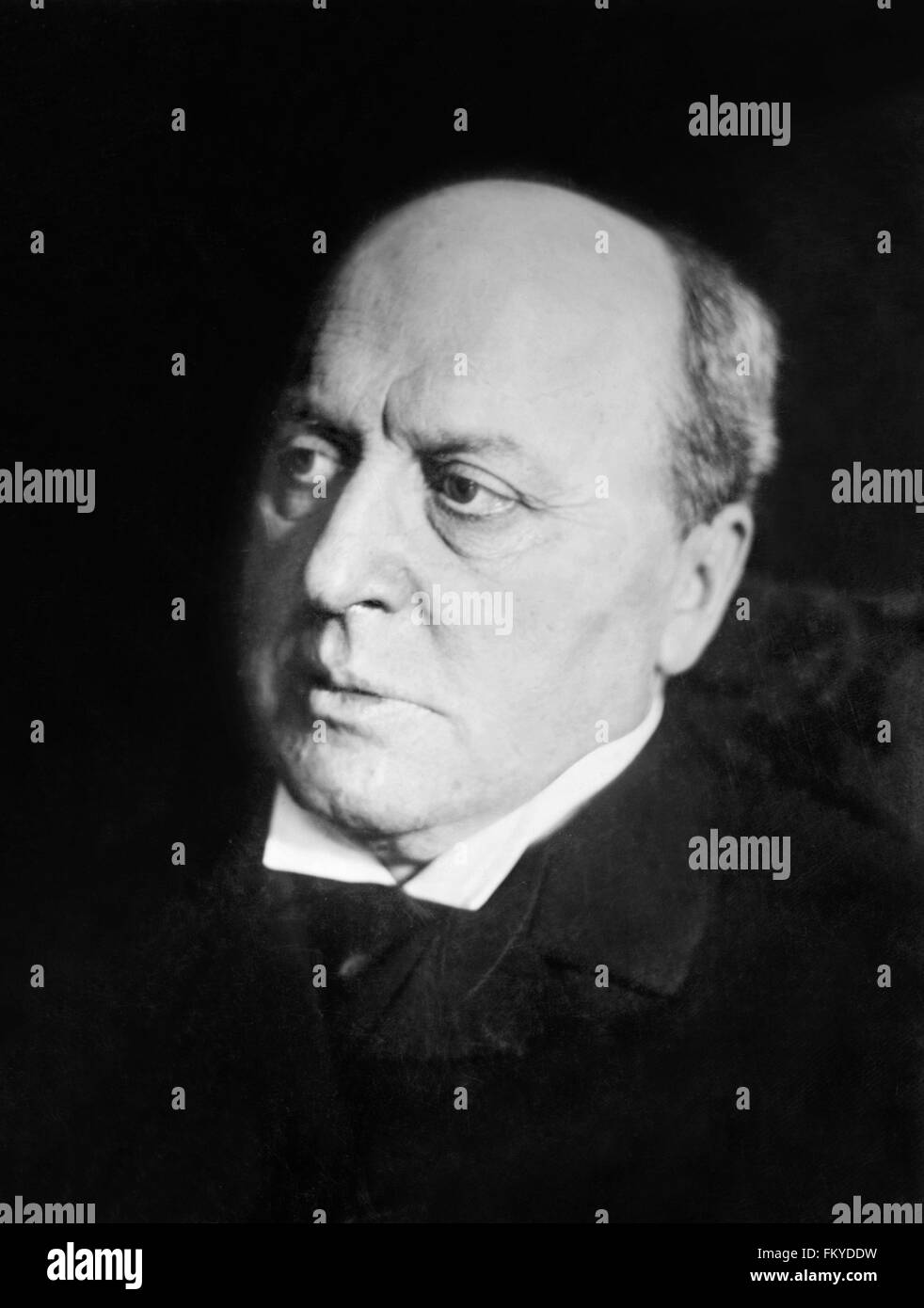 Henry James, portrait c.1910 - Stock Image