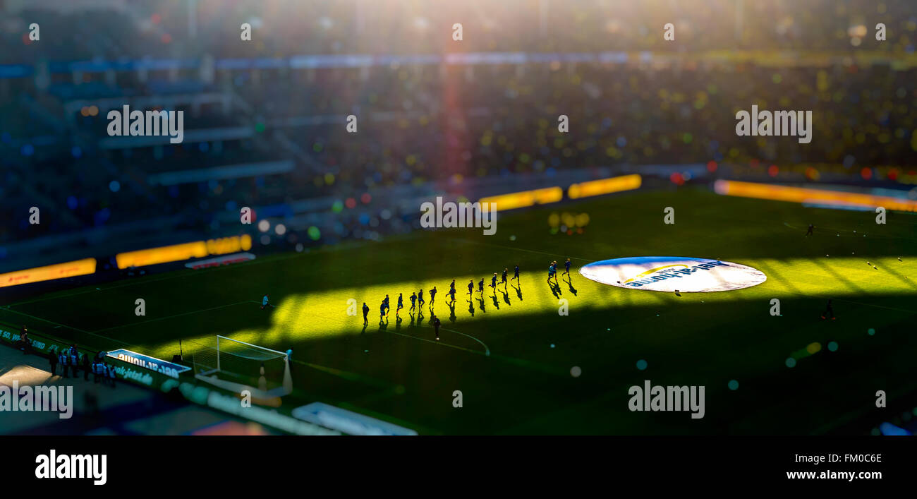 Olympiastadion Home to Hertha BSC Football Team, Berln, Germany - Stock Image