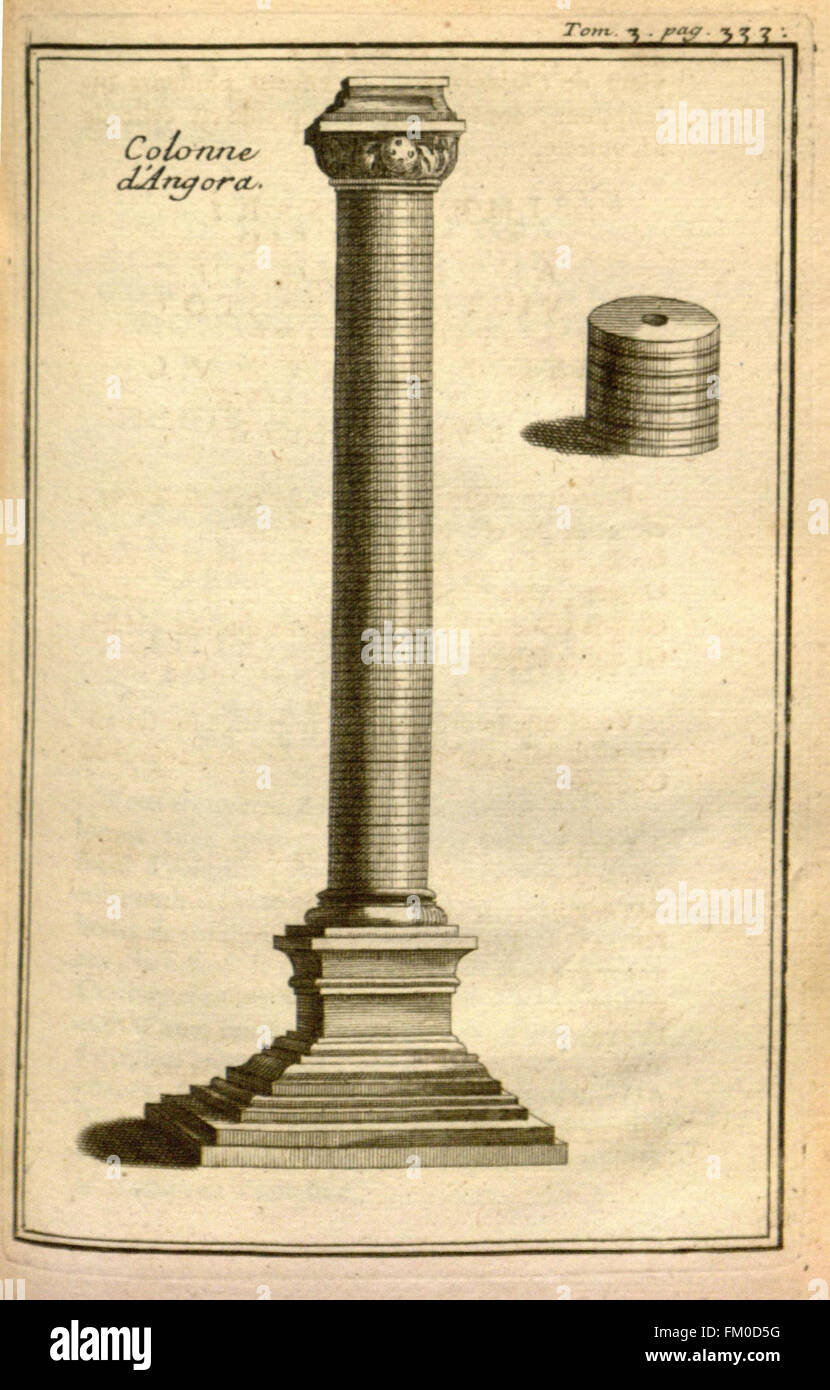 Relation d'un voyage du Levant (Plate 50) - Stock Image