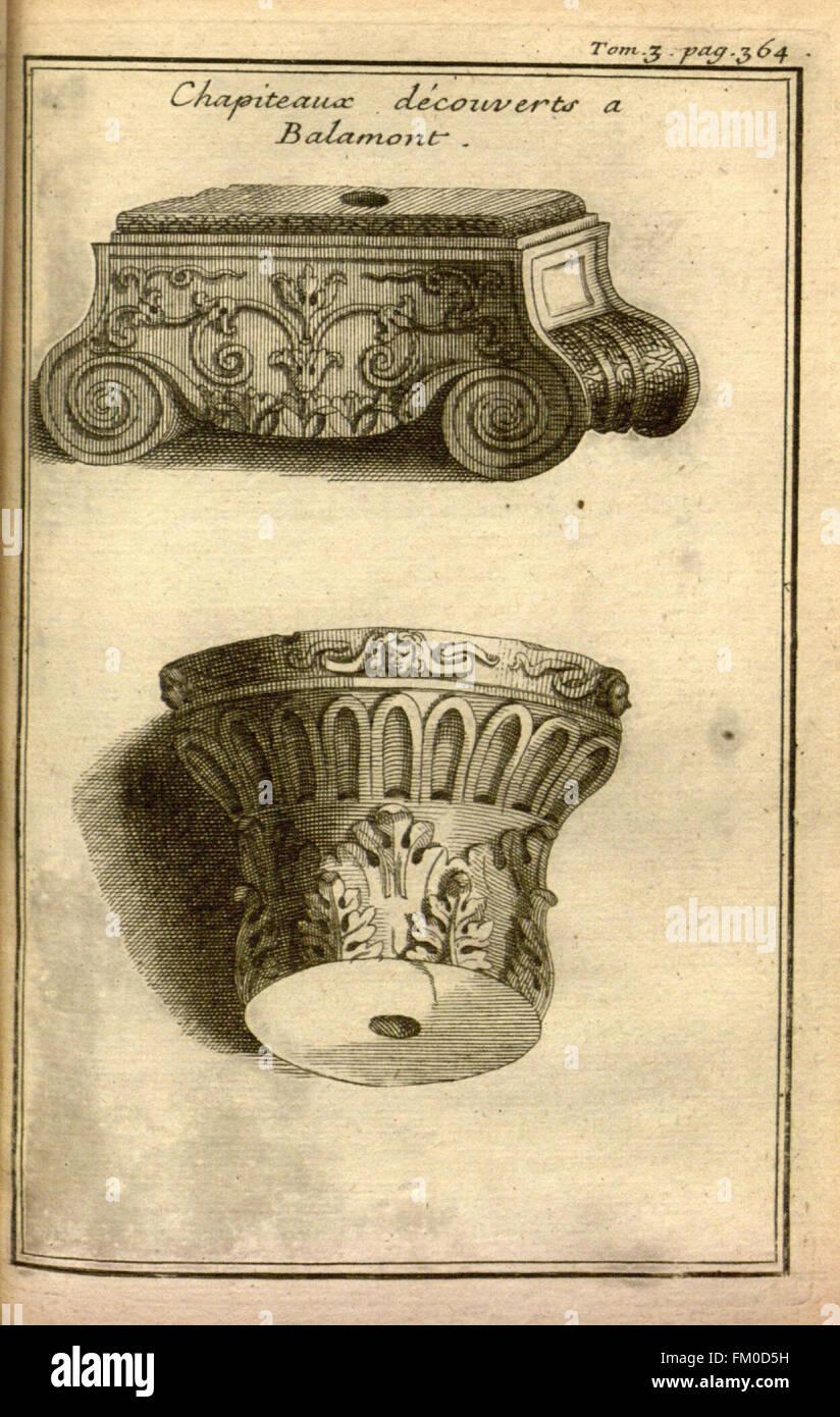 Relation d'un voyage du Levant (Plate 54) - Stock Image