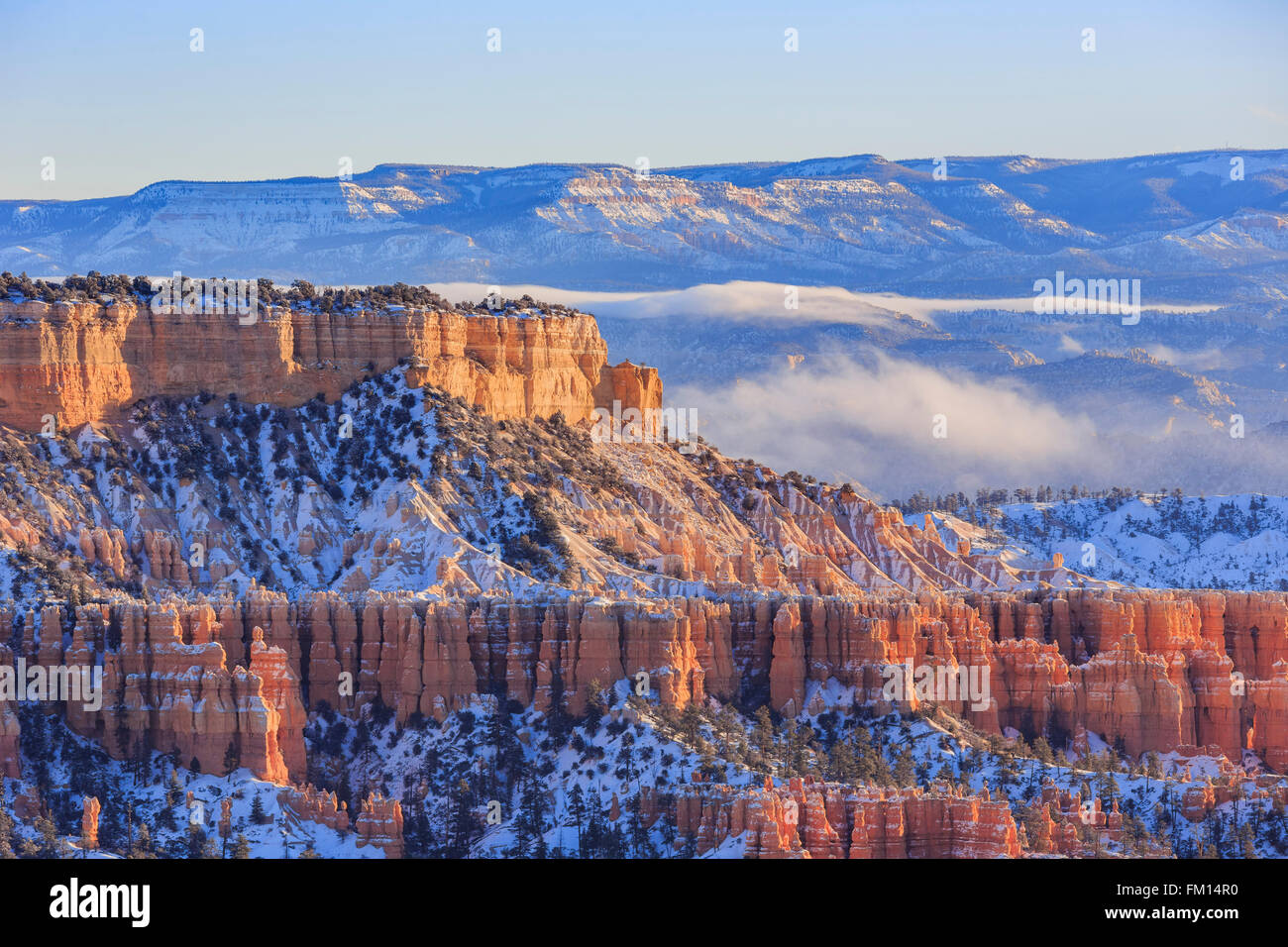 Superb view of Sunrise Point, Bryce Canyon National Park at Utah - Stock Image
