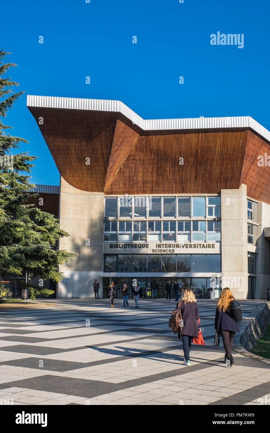 Bibliothèque Saint Martin D Uriage grenoble alpes university stock photos & grenoble alpes