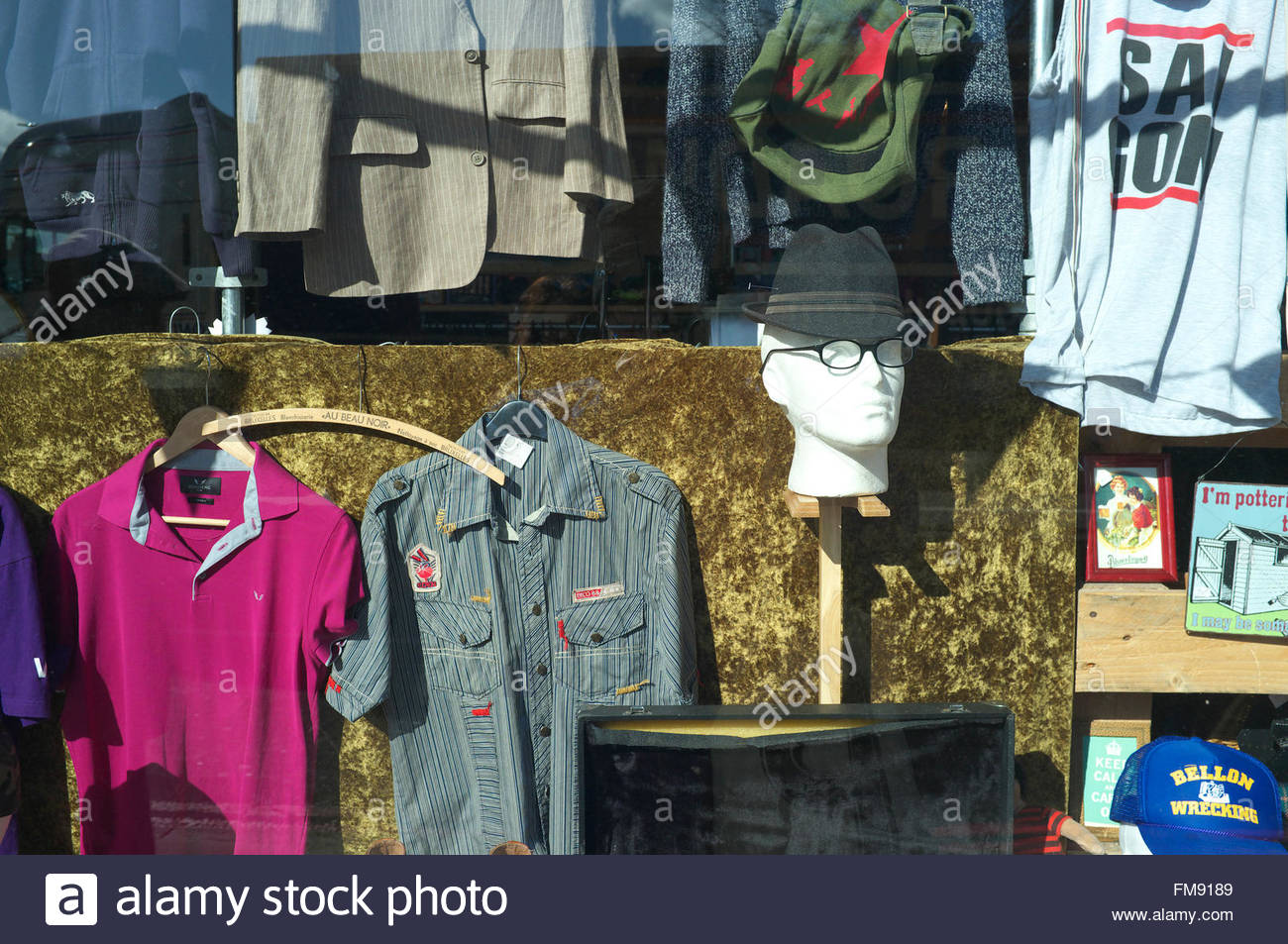 Second Hand Clothes Sale Stock Photos & Second Hand Clothes Sale ...