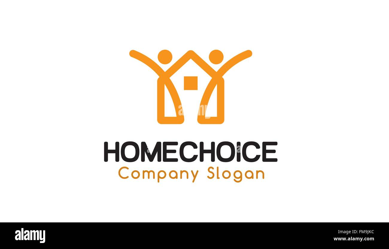 Home Choice Design Illustration - Stock Vector