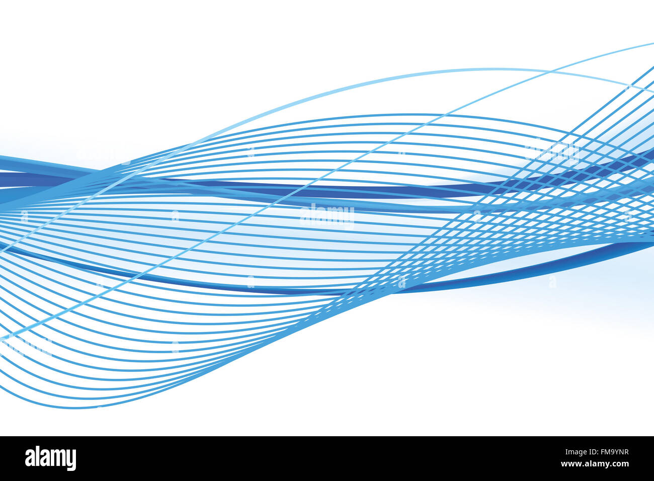 abstract, digital, illustration, energy, graphic, wave, futuristic, curve, blue, motion, modern, color, light, shape, Stock Photo