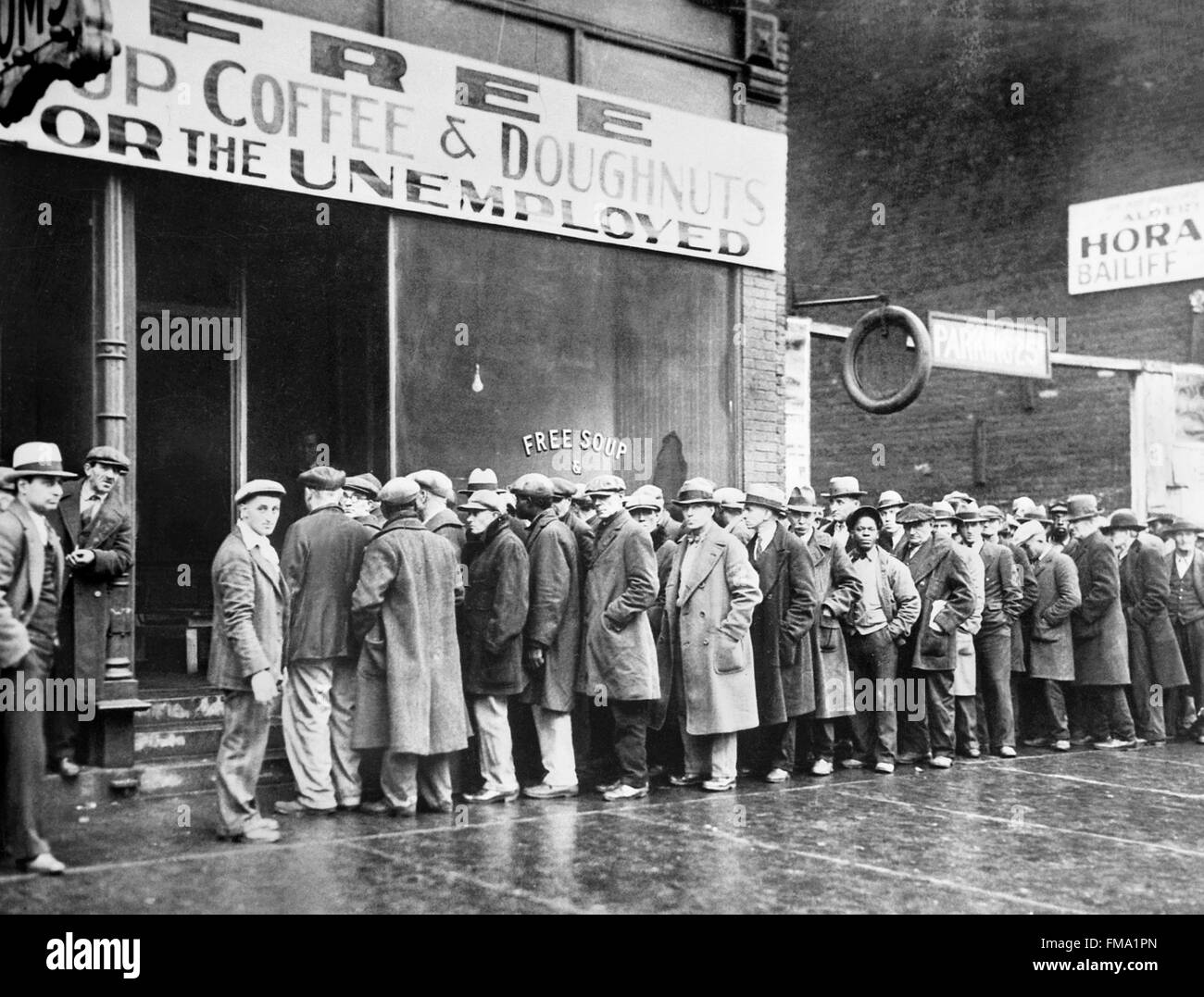 Soup Kitchens Bread Lines During Great Depression