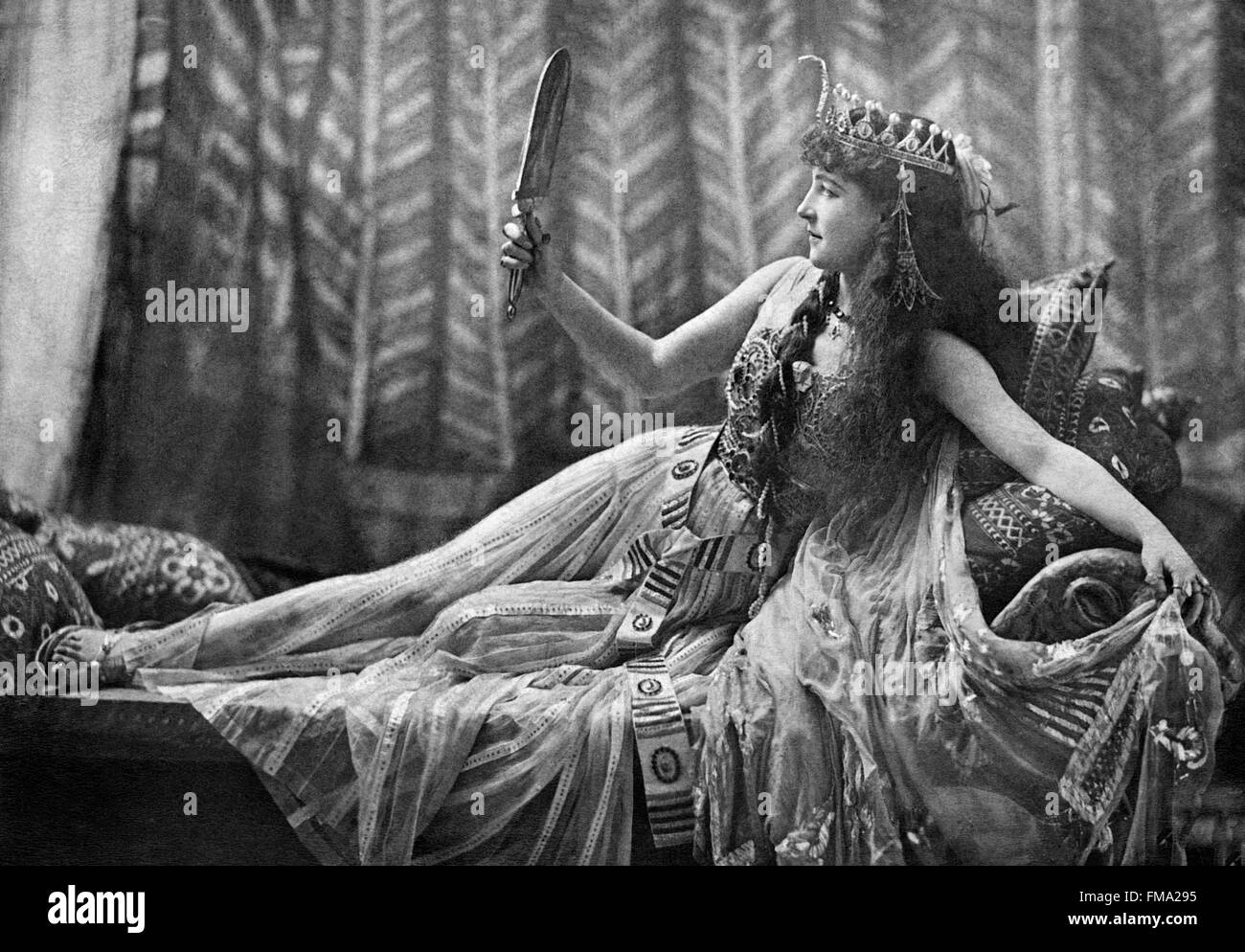 Lillie Langtry As Cleopatra 1891