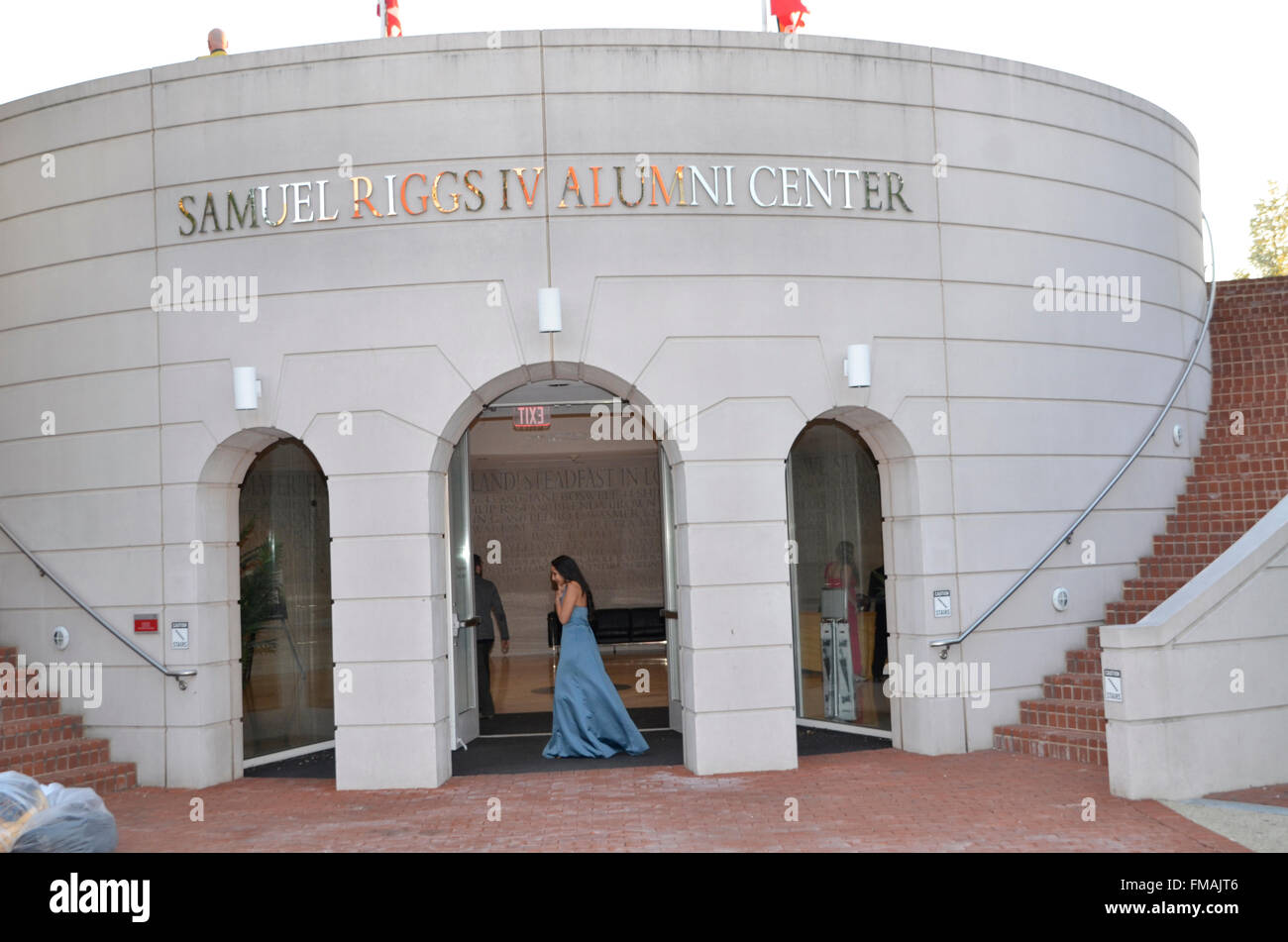 The Samuel Riggs Alumni Center at the University of Maryland in College Park, Maryland - Stock Image