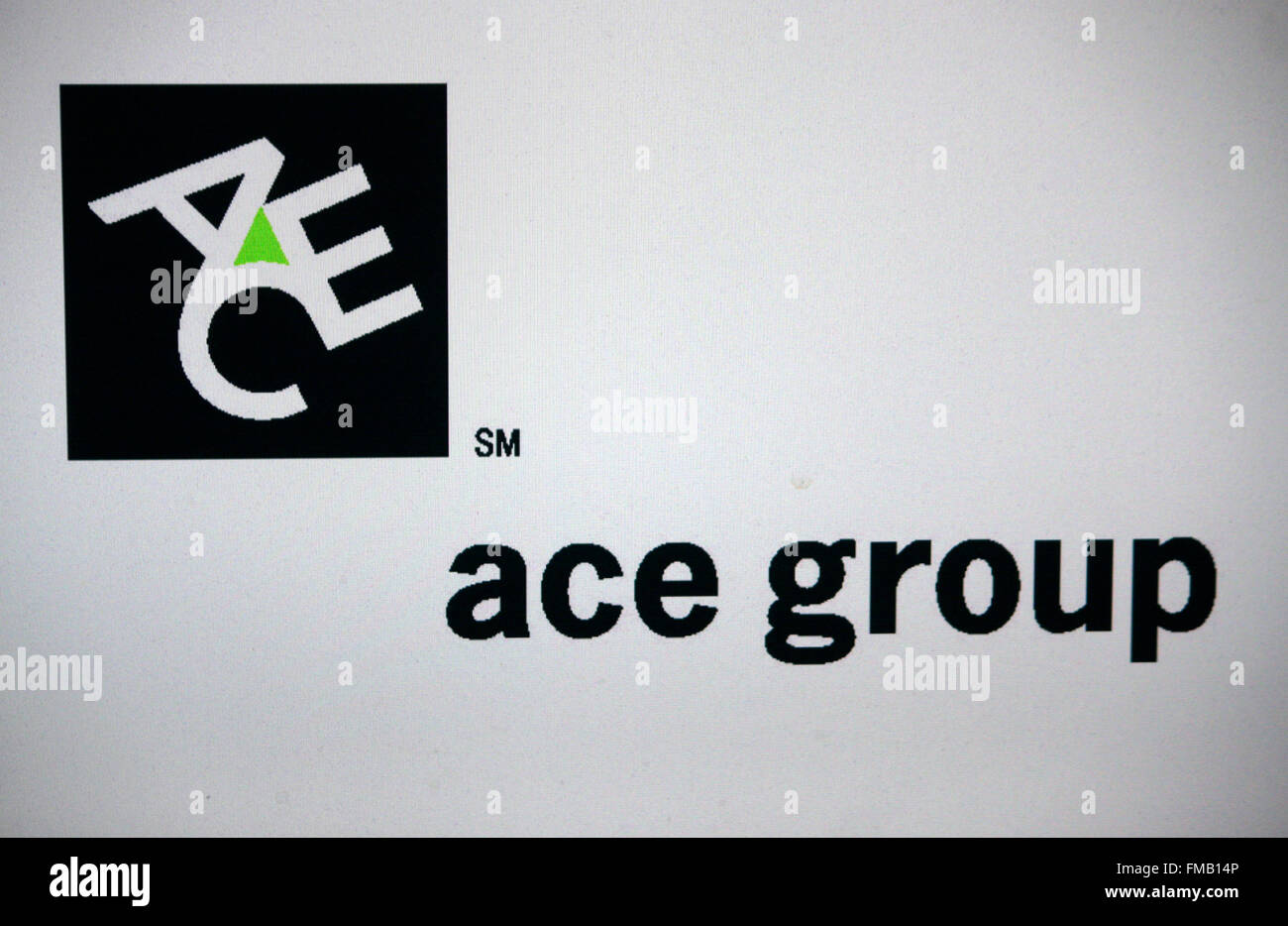 Markenname: 'Ace Group', Berlin. - Stock Image