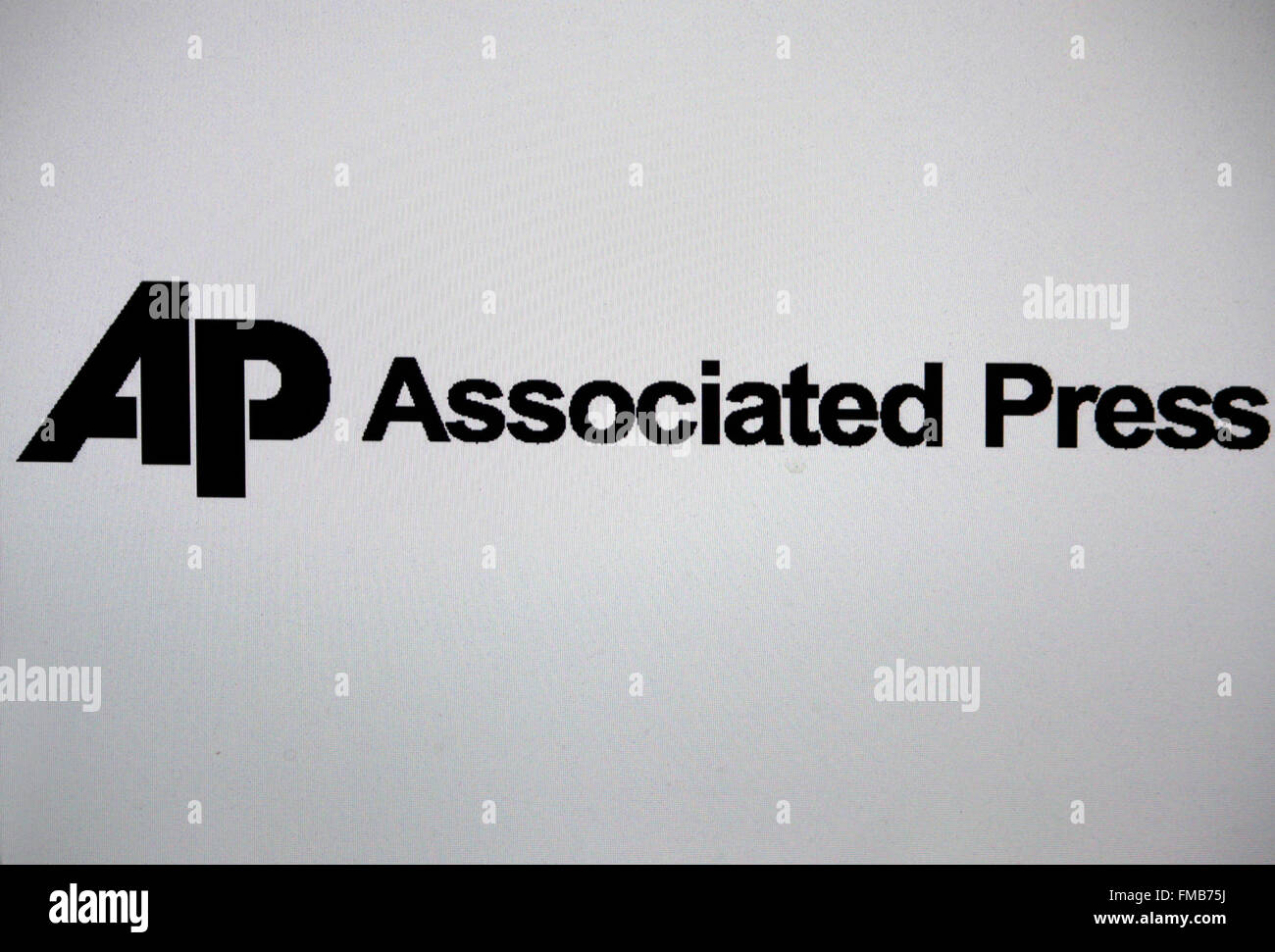 Markenname: 'AP Associated Press', Berlin. - Stock Image