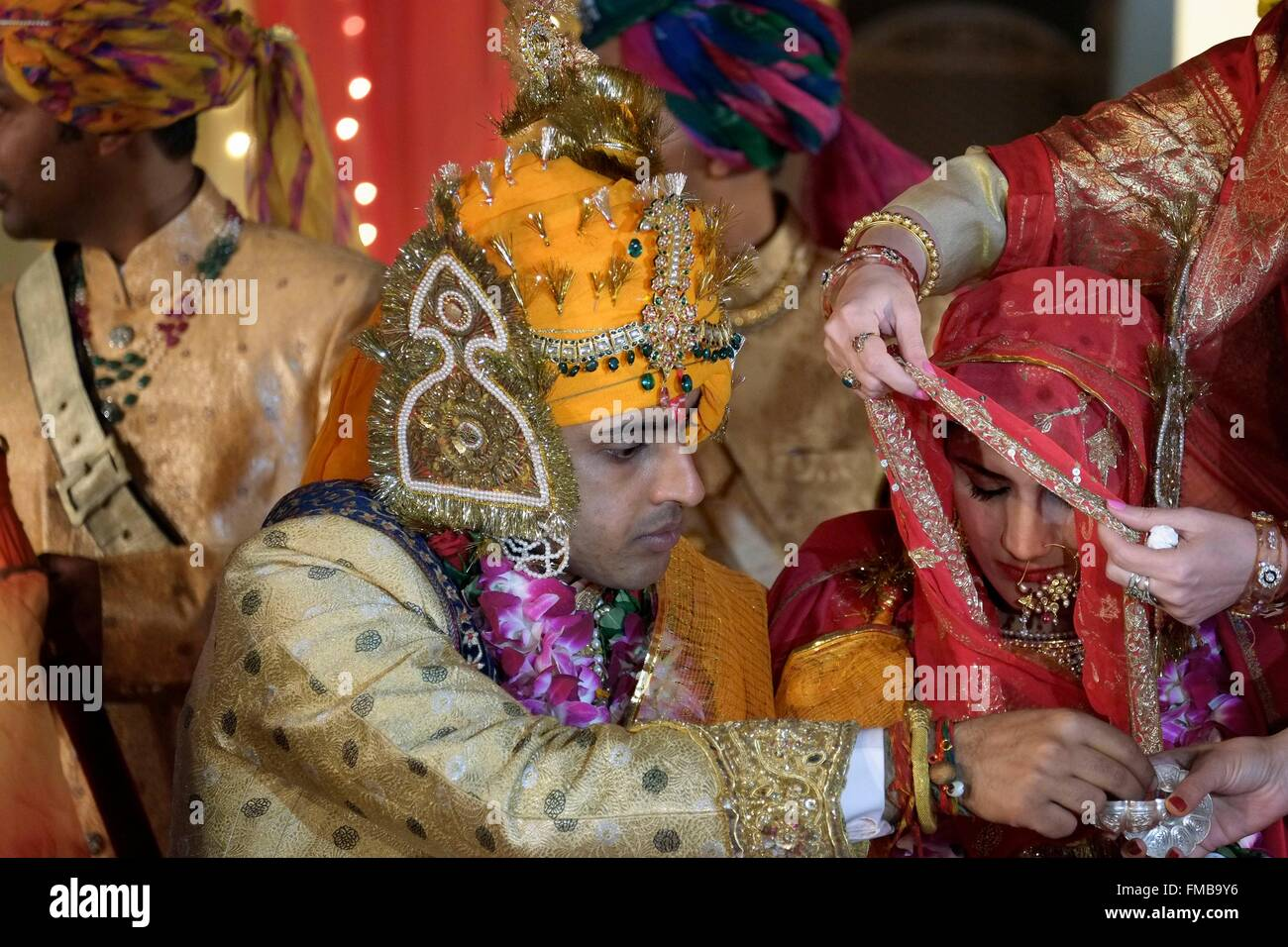 India Rajasthan State Jodhpur A Royal Rajasthani Wedding Between Param Vijay Et Kamakshi