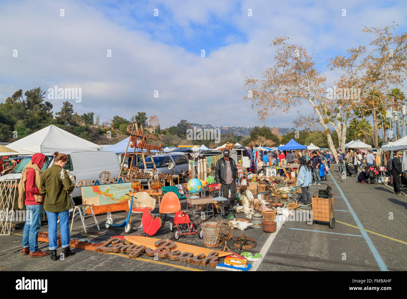 Pasadena fishing flea market