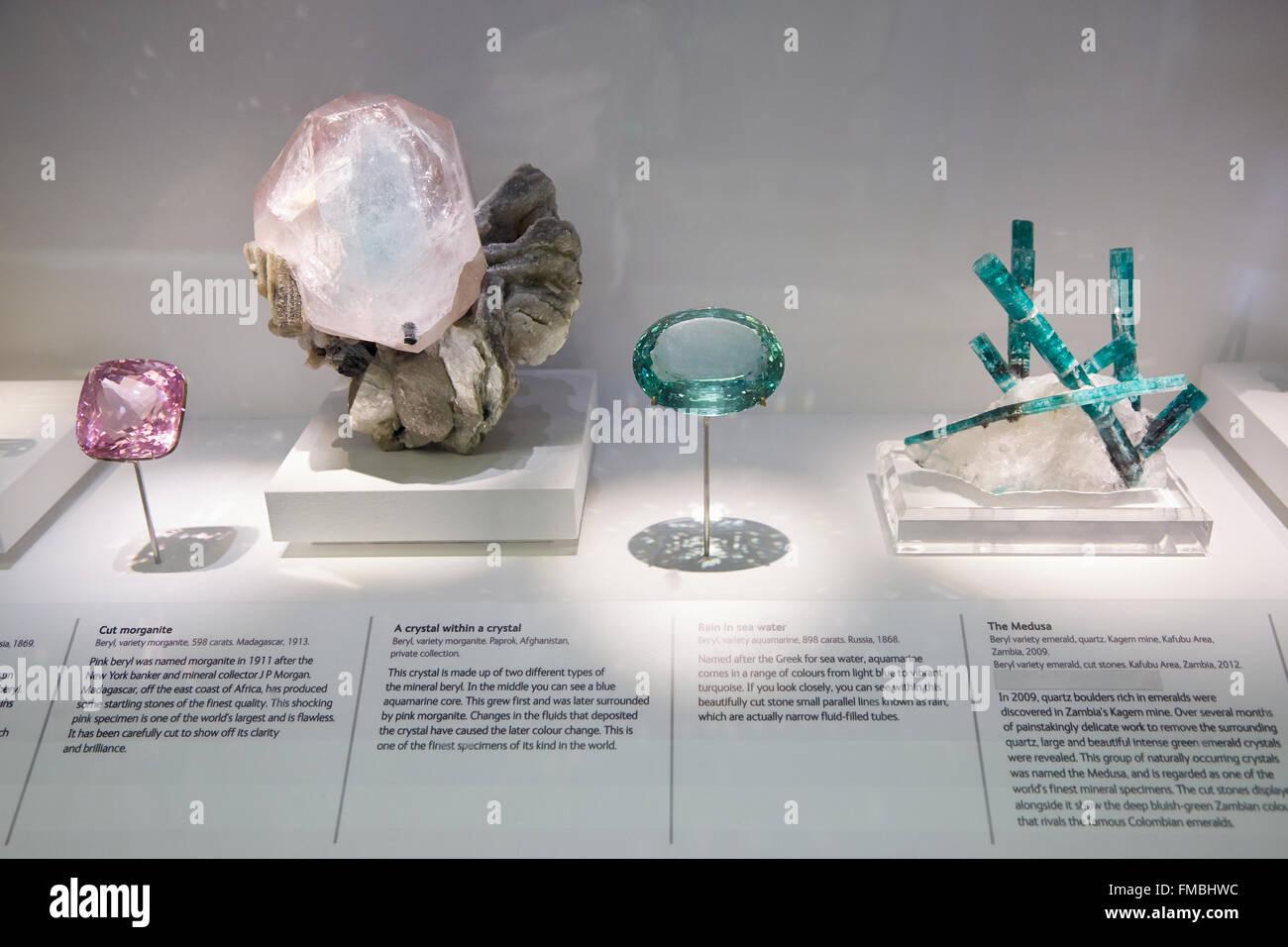 Gem Vault Natural History Museum