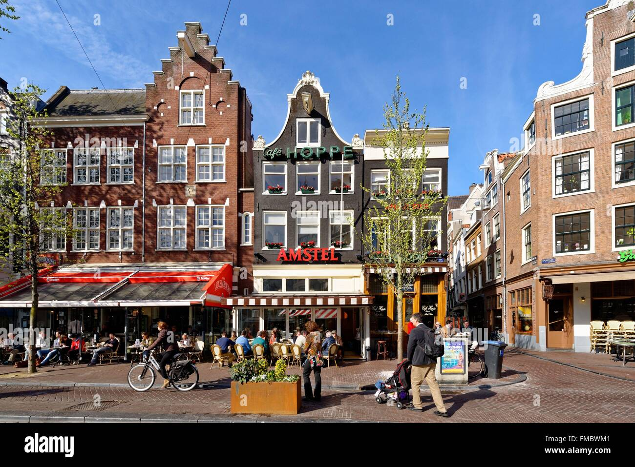 Netherlands, Northern Holland, Amsterdam, historical centre, Spui Stock Photo