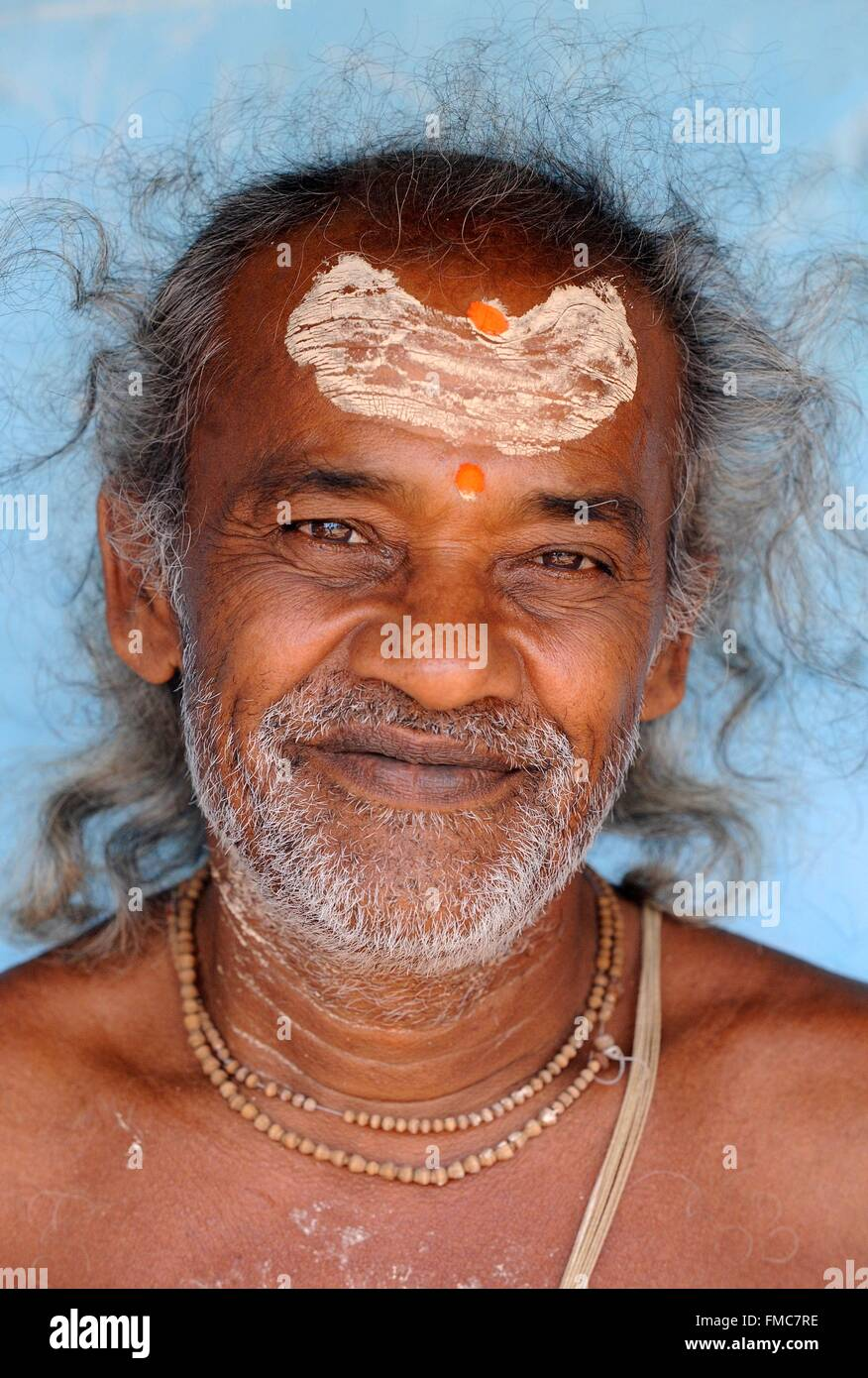 India, Odisha, sadhu Stock Photo