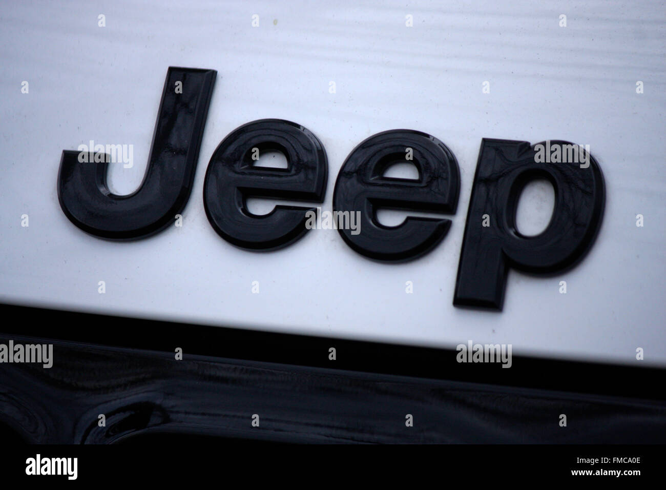Markenname: 'Jeep', Berlin. - Stock Image