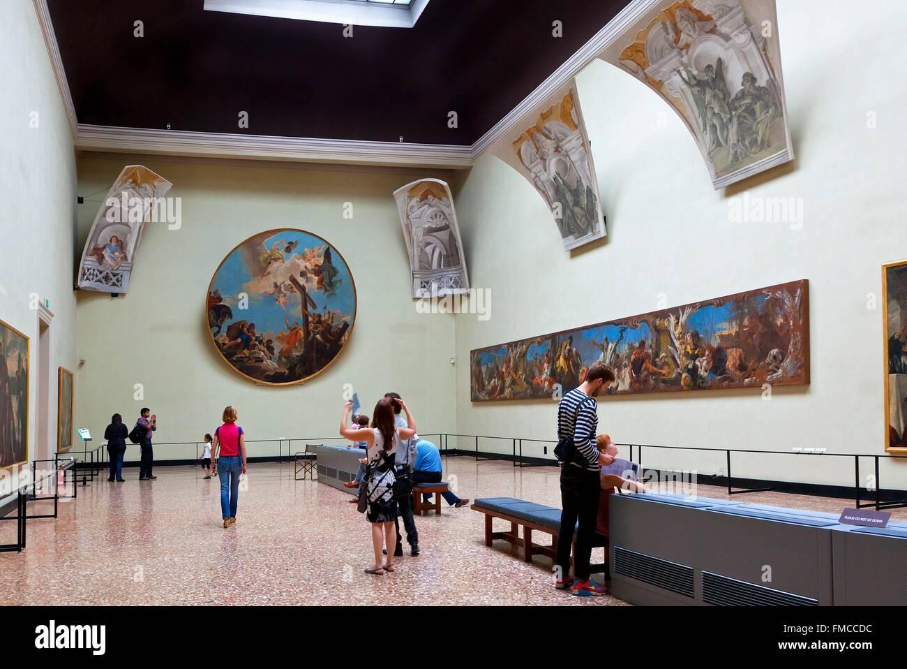 Italy, Veneto, Venice, Accademia Gallery in Venice - Stock Image
