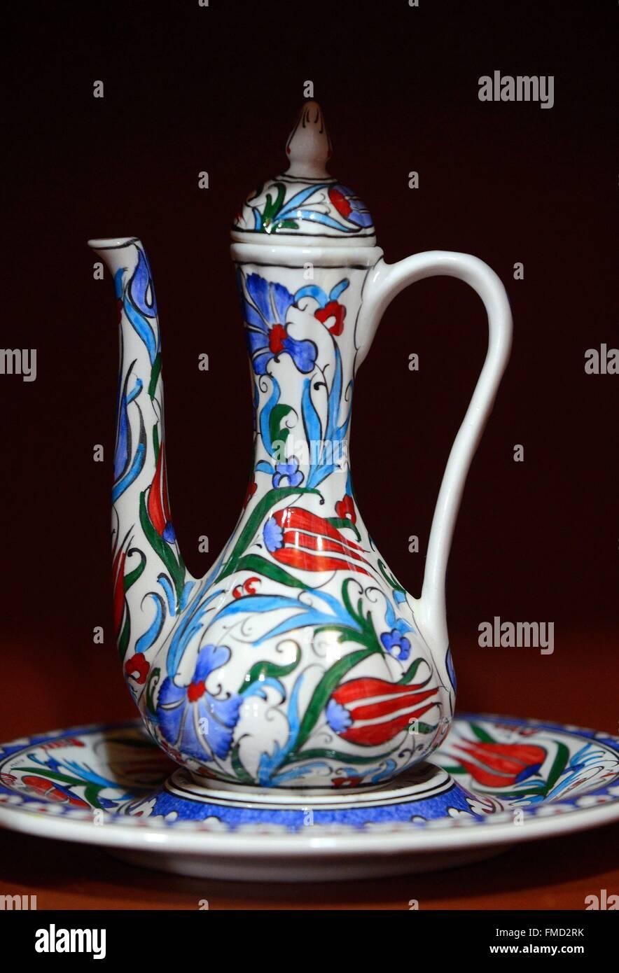 Turkey, Marmara region, Iznik, earthenware workshop - Stock Image
