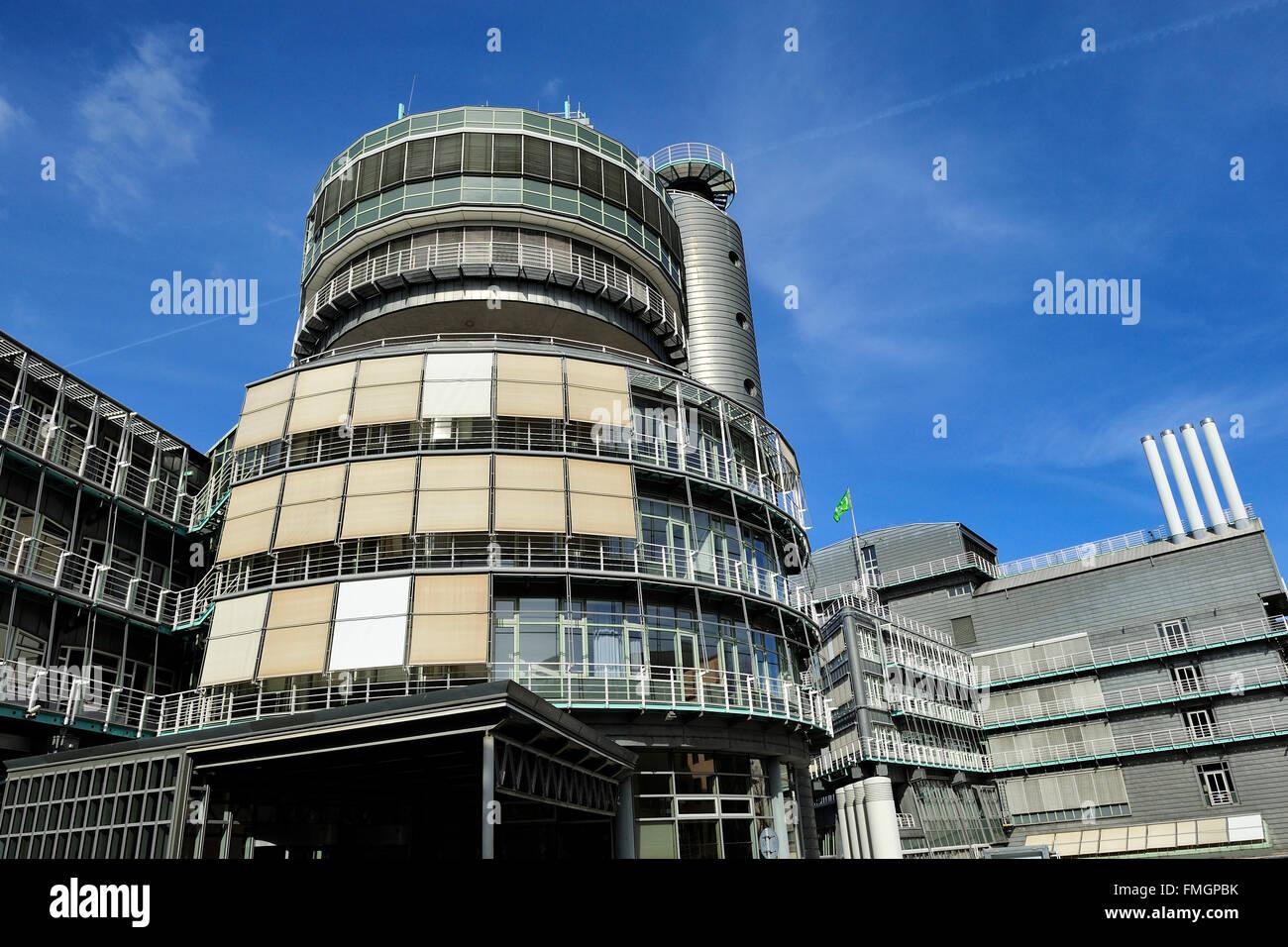 HAMBURG, Germany -  Headquarters of the Gruner + Jahr Publishing - Stock Image