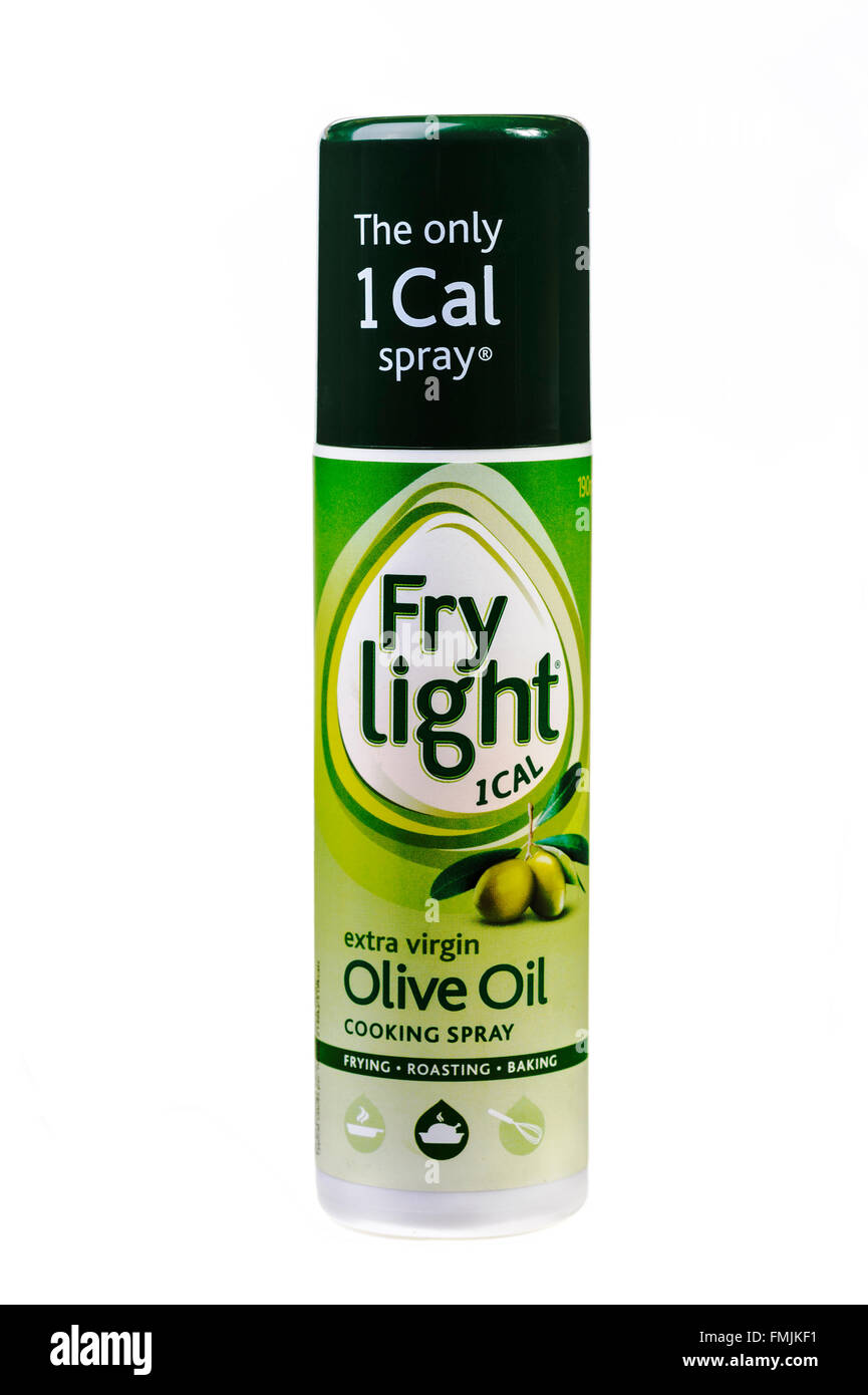 Tin of Dairy Crest Frylight. - Stock Image