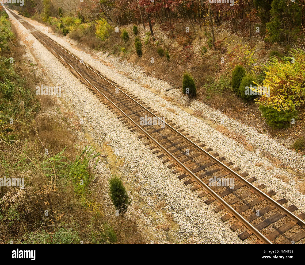 Train Track - Stock Image
