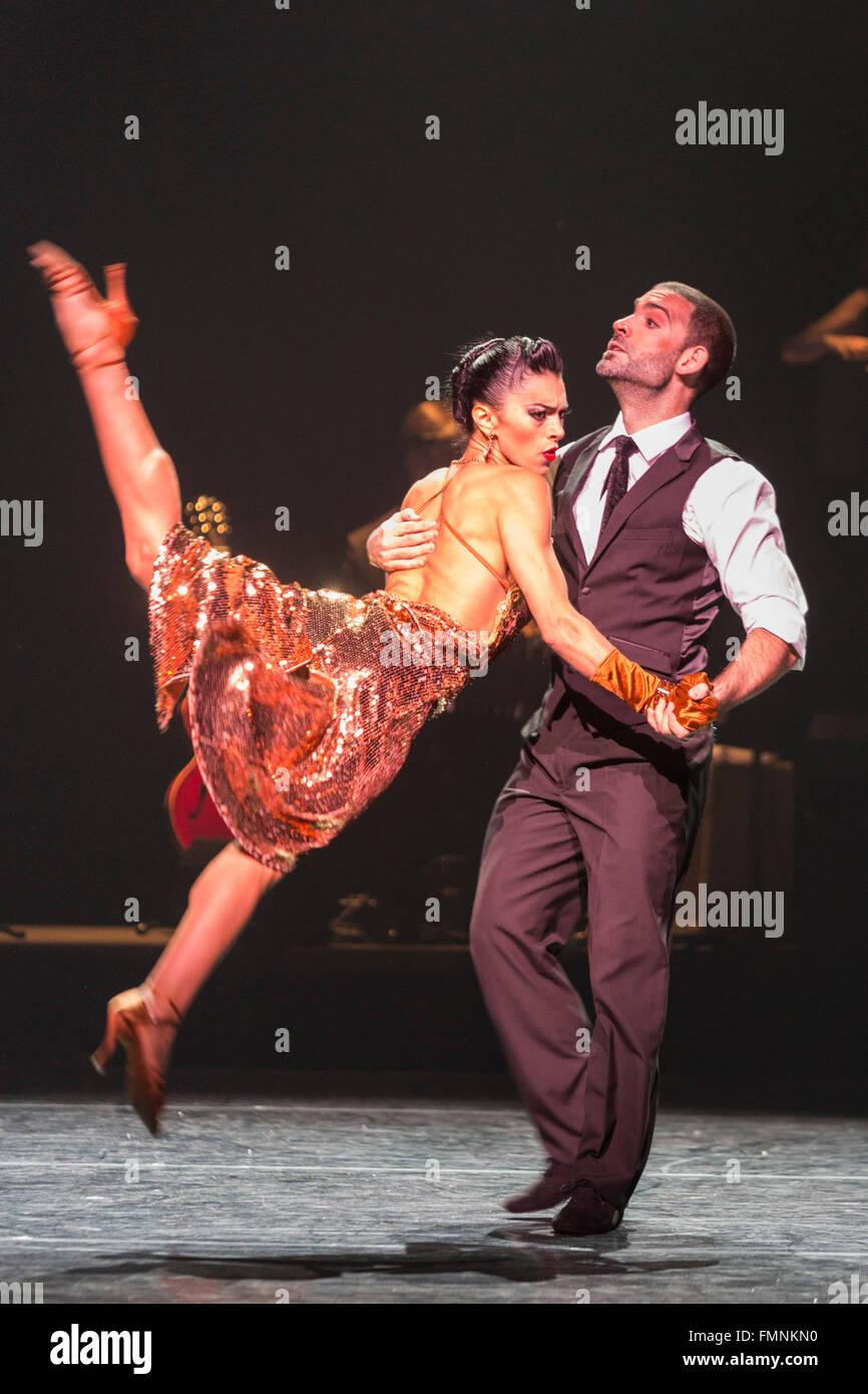 German Cornejo and Gisela Galeassi  The Argentine Tango show