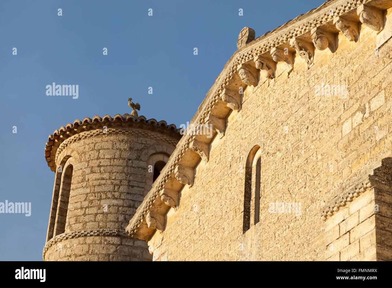 Frómista, Spain: San Martín de Tours de Frómista. - Stock Image