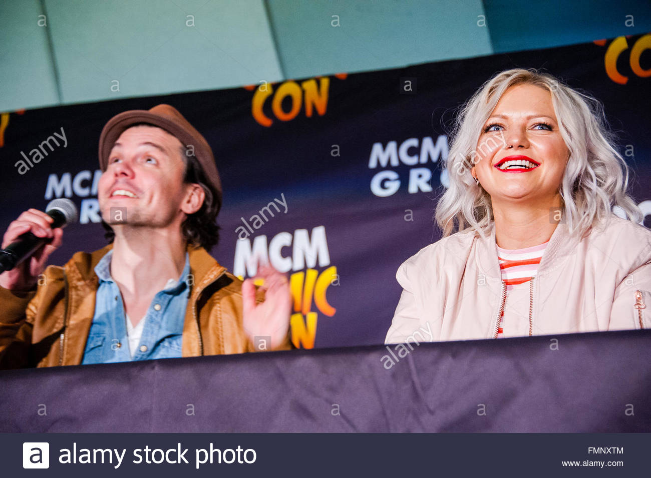 Andrew Lee Watts & Hannah Spearritt the Primeval Co stars come to