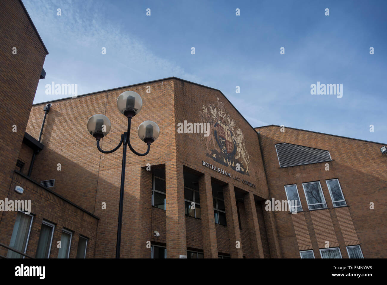 Rotherham Law Courts. Including Magistrates, County and Family Court. - Stock Image