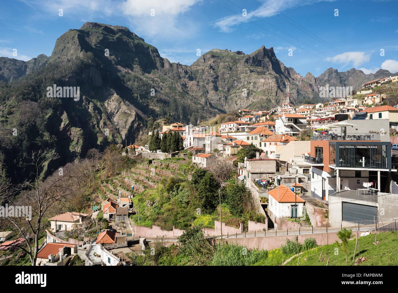 Curral das Freiras, Madeira, Portugal - Stock Image