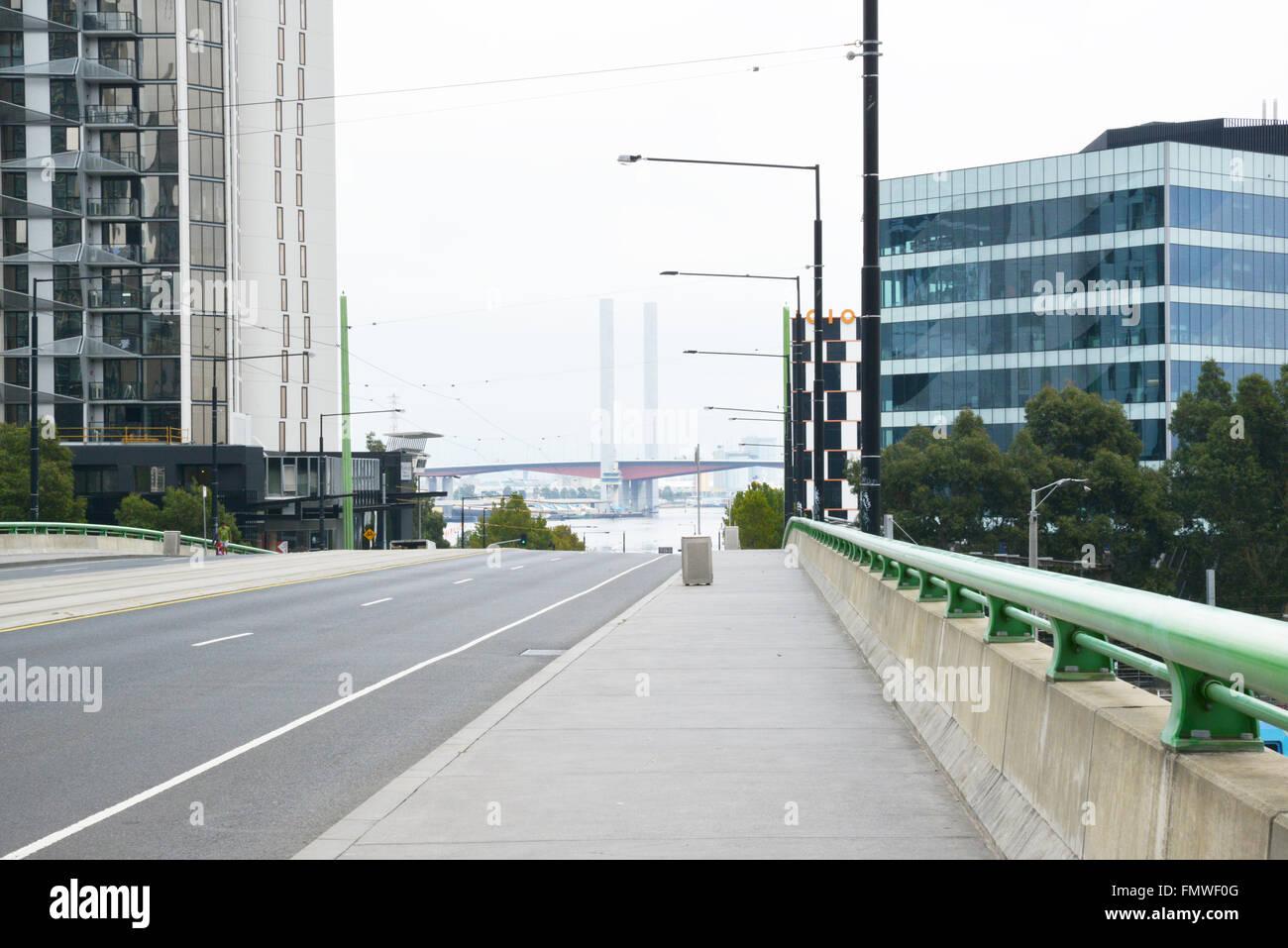 The Docklands, Melbourne, Victoria, Australia - Stock Image