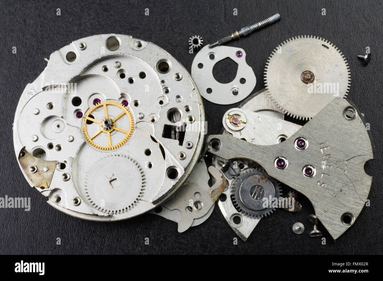 Broken Wristwatches - Stock Image