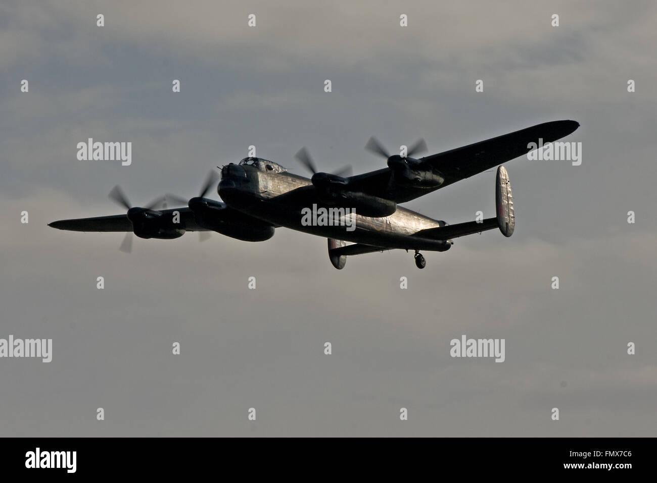 Canadian Warplane Heritage Museum Lancaster Mk.X, FM213 - Stock Image