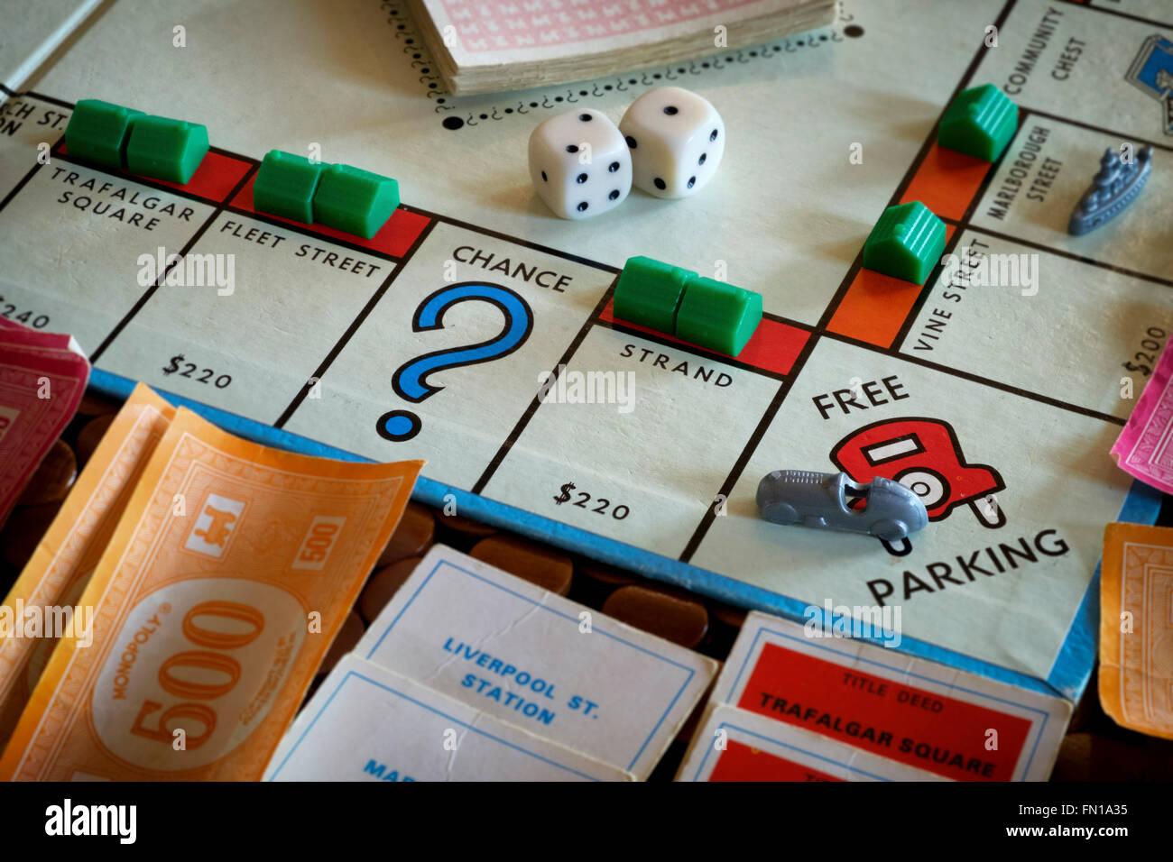 Monopoly - Stock Image