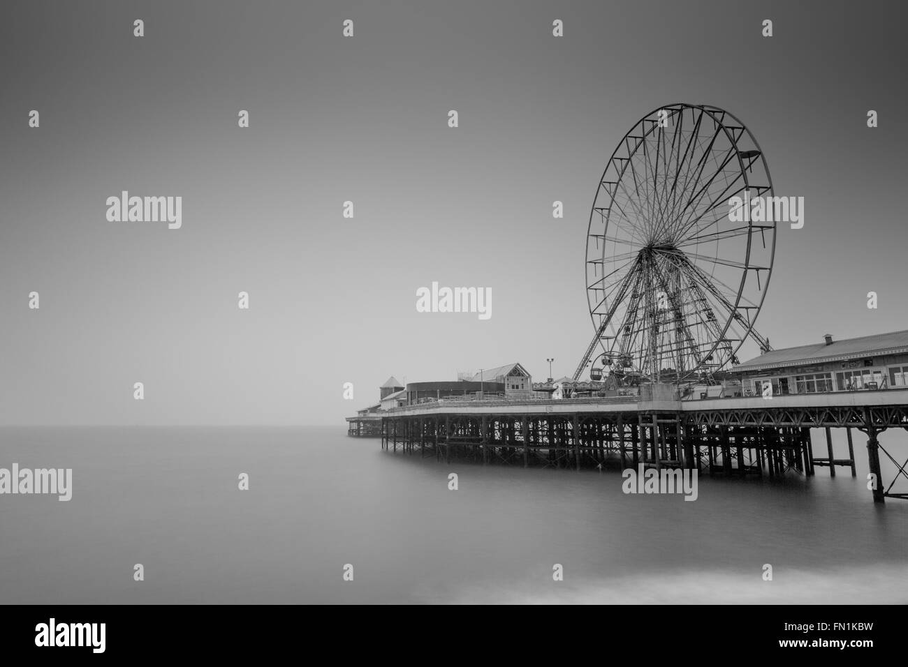 Blackpool Central Pier - Stock Image