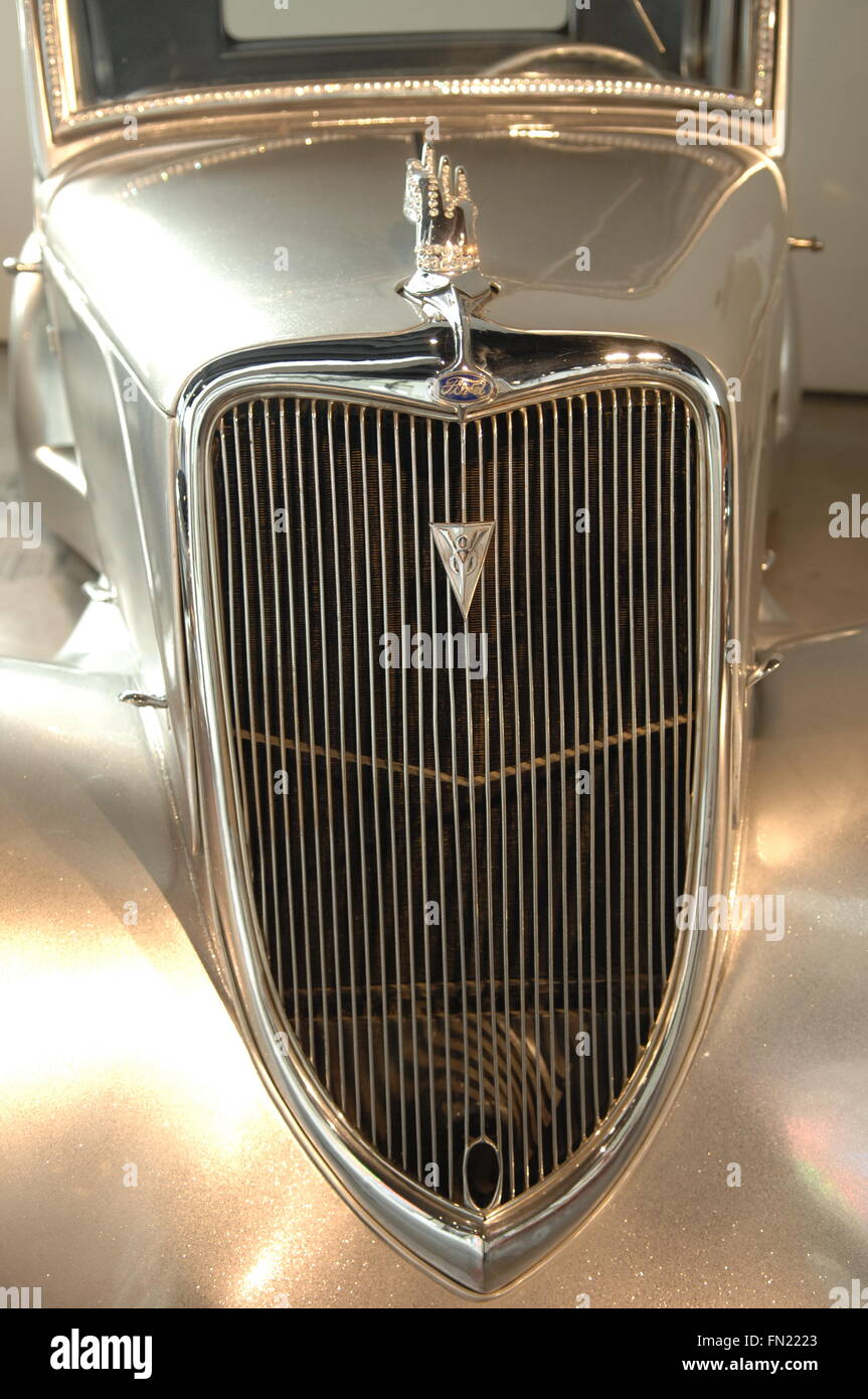 Lancia from Italy - 1939 on display in Museo Automovilistico - Stock Image