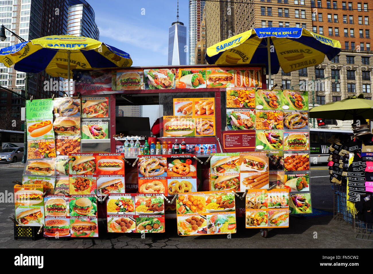Street Food Vendors In Nyc