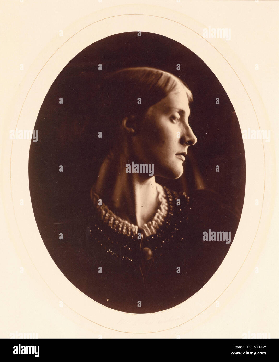 Julia Margaret Cameron - Mrs. Herbert Duckworth - Stock Image