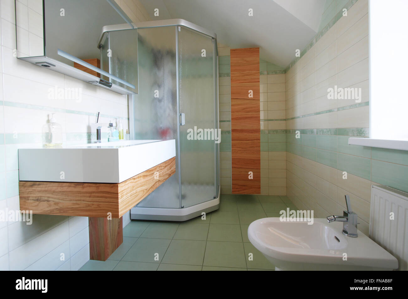 Bathroom Toilet Bidet Shelf Stock Photos Bathroom Toilet Bidet
