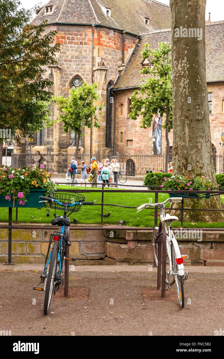Unterlinden Museum Colmar, Haut Rhin, Alsace, France - Stock Image