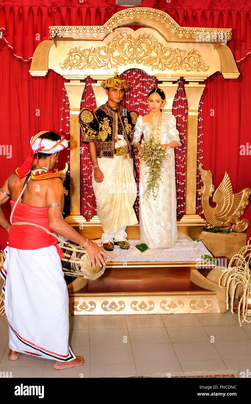Wedding Kandy Sri Lanka Stock Photo 99233832 Alamy