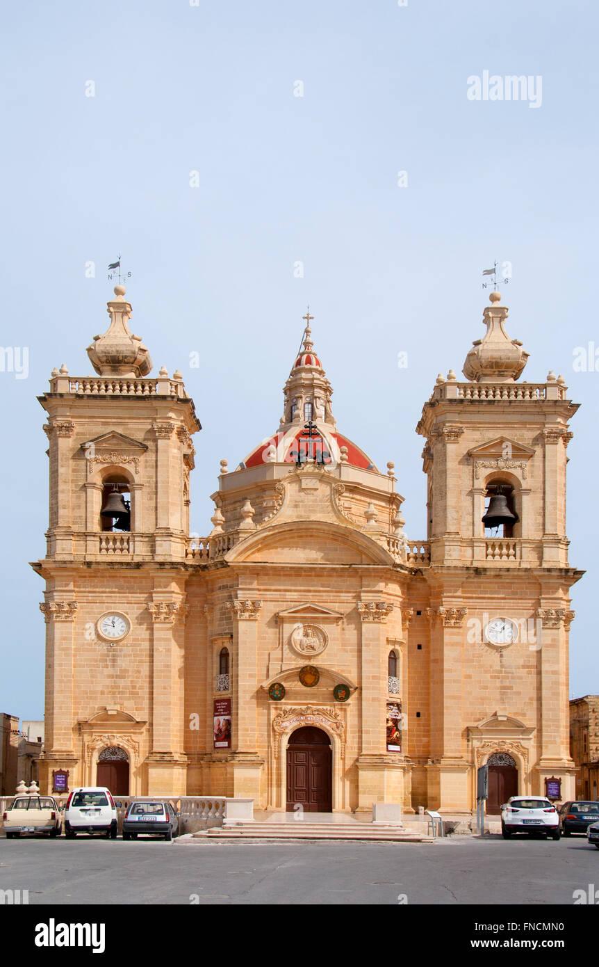 Xaghra Church, Gozo, Malta - Stock Image
