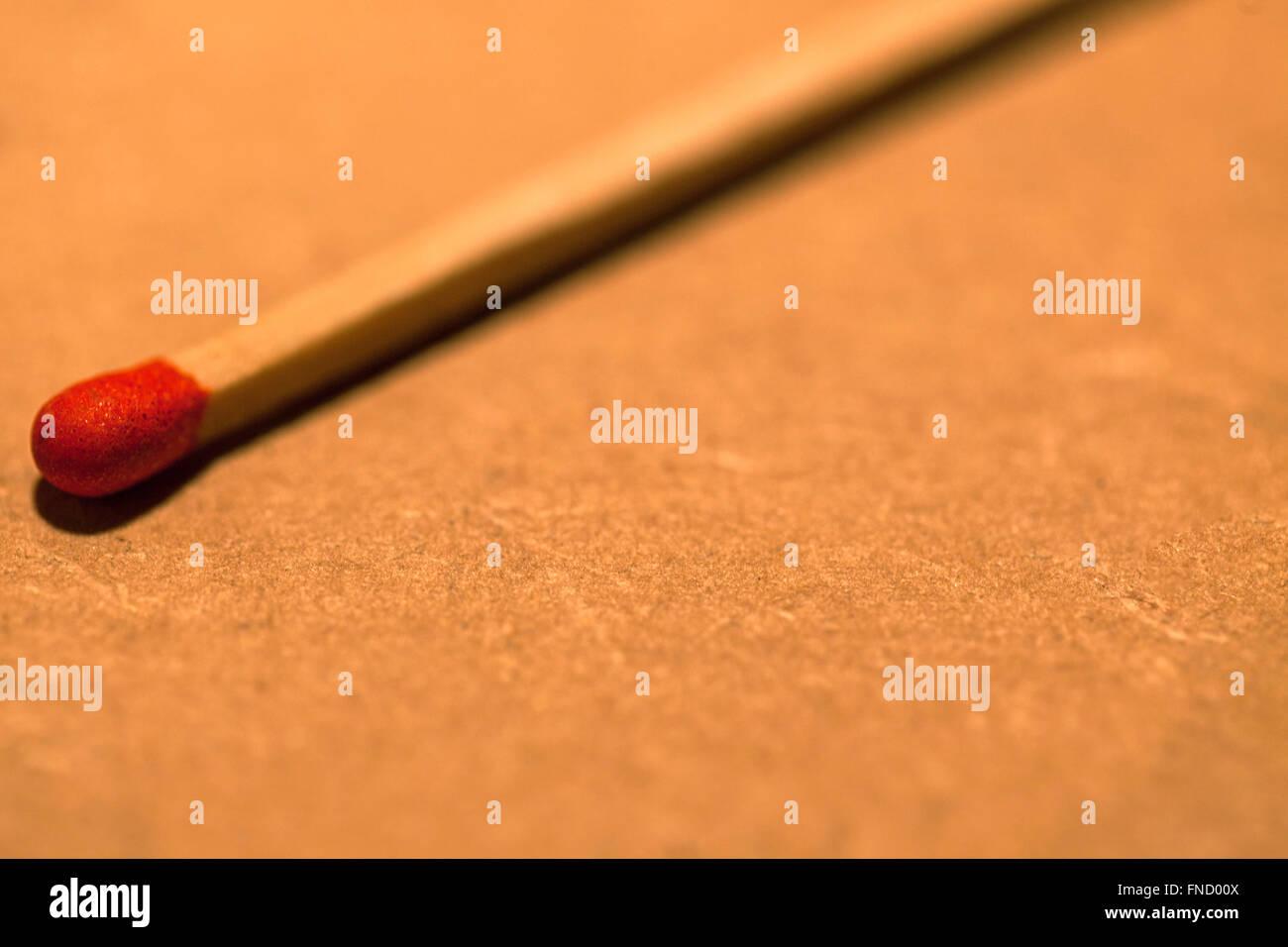 Single match - Stock Image