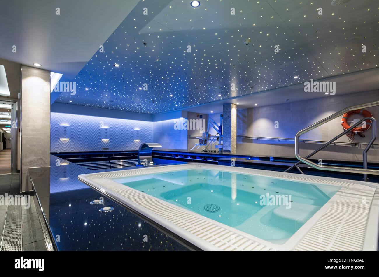 Spa Swimming Pool Sports Basin Small Jacuzzi Hydro Handrail Steps ...