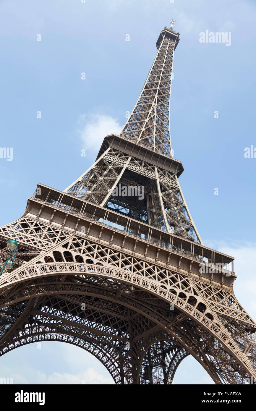 Eiffel tower Paris France - Stock Image