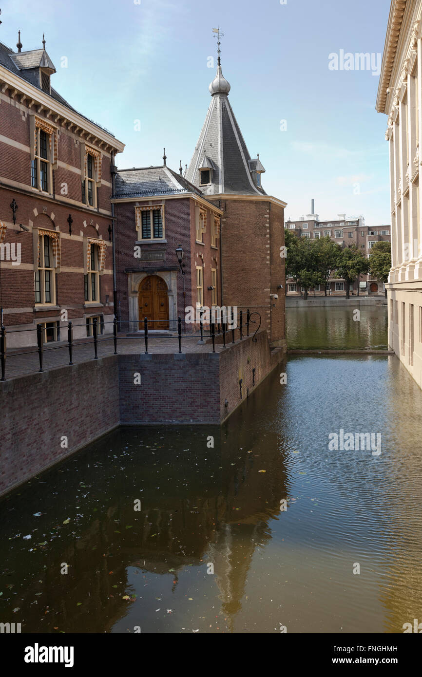 Torentje or little tower, the official office of the Prime Minister of the Netherlands in the hague - Stock Image