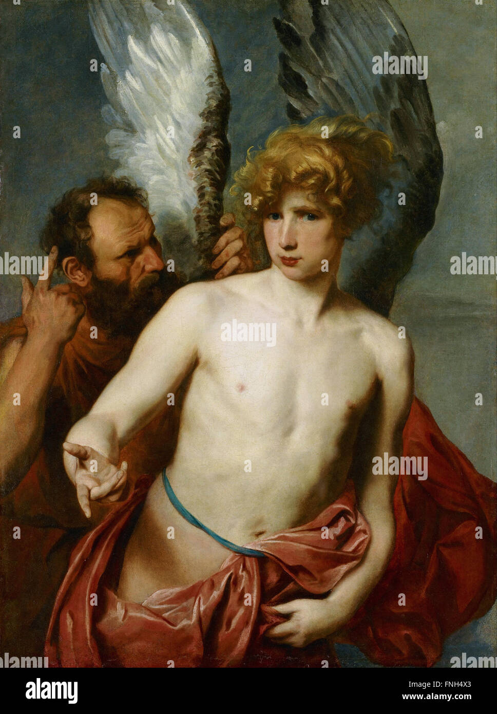 Anthony van Dyck - Daedalus and Icarus - Stock Image