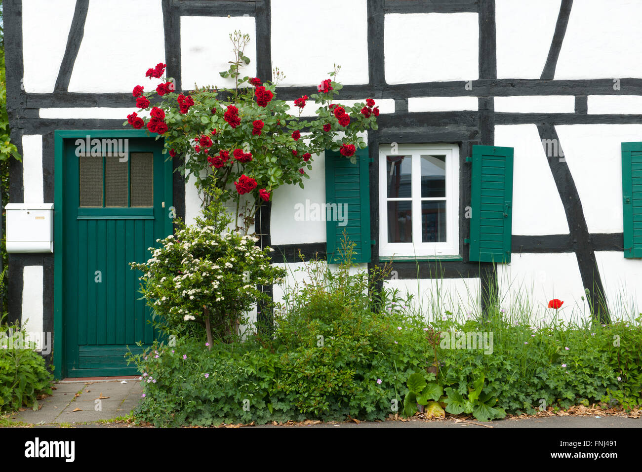 Deutschland, Rhein-Sieg-Kreis, Lohmar, Donrath Stock Photo