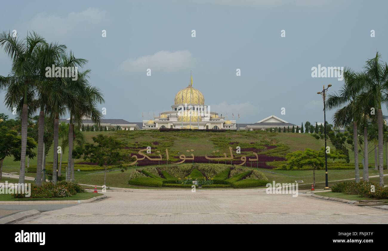 The National Palace in Kuala Lumpur, Malaysia, on 19 October 2014. Photo: Sebastian Kahnert - NO WIRE SERVICE - - Stock Image