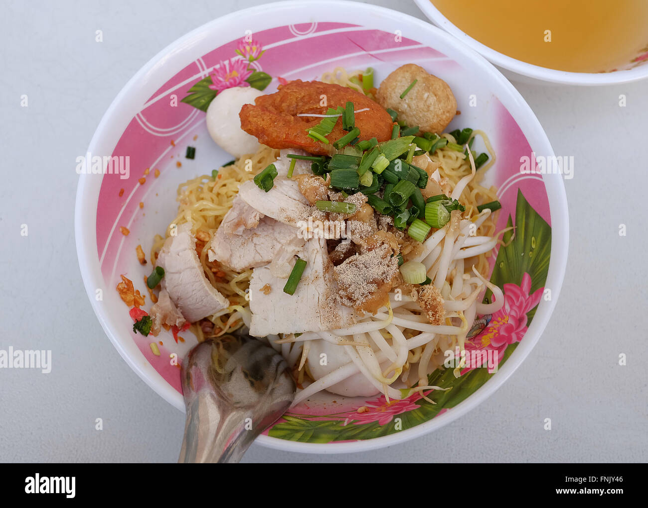 noodles Thai sytle   - Very Yummy - Stock Image